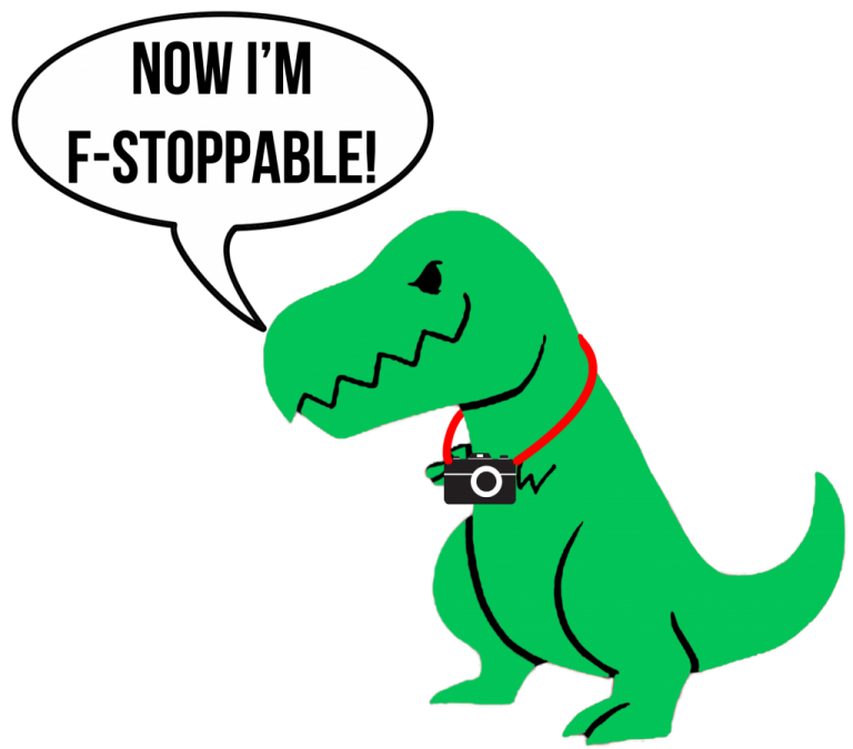 Now I'm F-Stoppable!